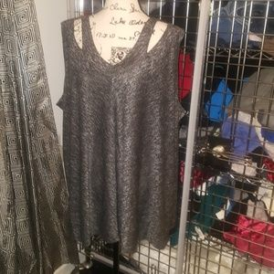 Anywhere by Catherines Heather tank size 3x&5xnwot
